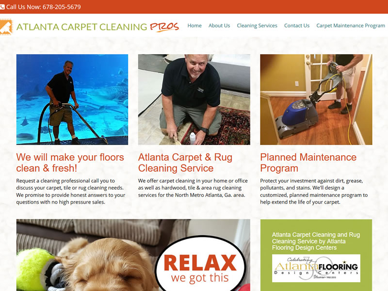 Atlanta Carpet Cleaning Pros