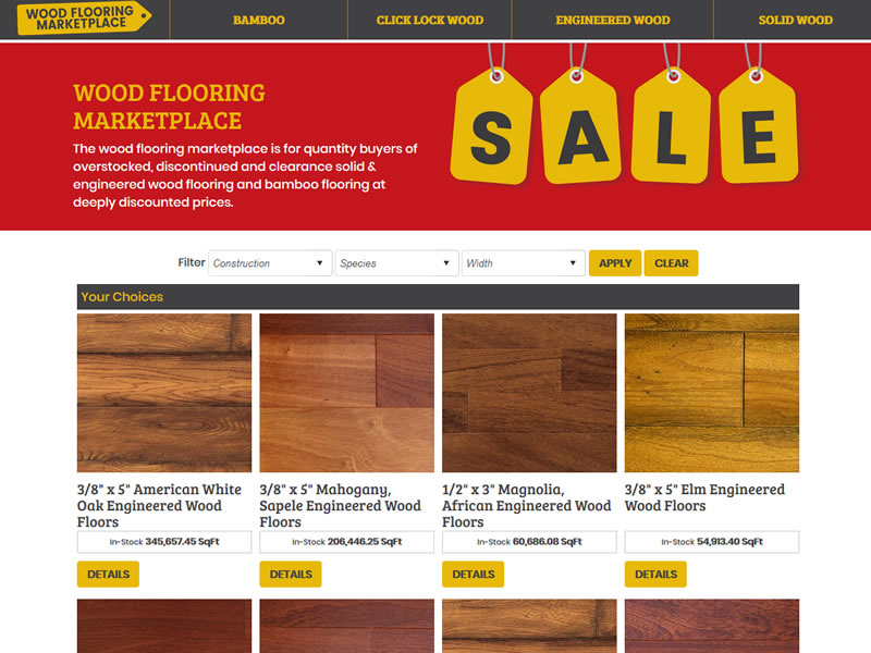 Wood Flooring Marketplace